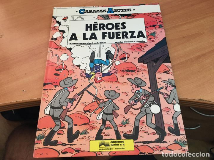 Cómics: CASACAS AZULES LOTE COLECCION COMPLETA TAPA DURA A FALTA DEL Nº 3 (COIM10) - Foto 3 - 132899810