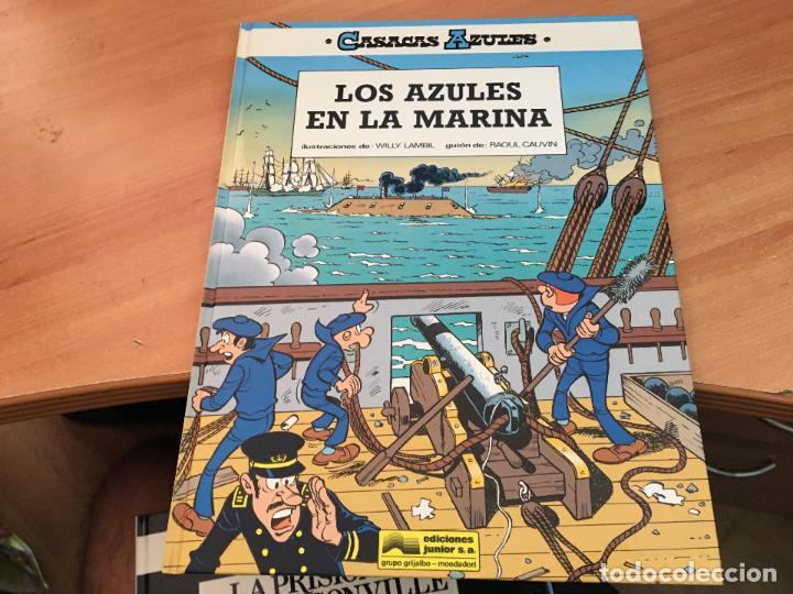 Cómics: CASACAS AZULES LOTE COLECCION COMPLETA TAPA DURA A FALTA DEL Nº 3 (COIM10) - Foto 9 - 132899810