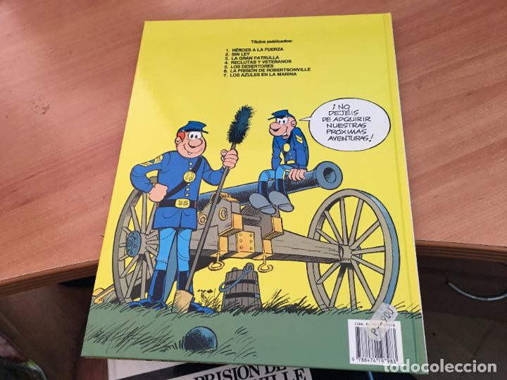 Cómics: CASACAS AZULES LOTE COLECCION COMPLETA TAPA DURA A FALTA DEL Nº 3 (COIM10) - Foto 10 - 132899810