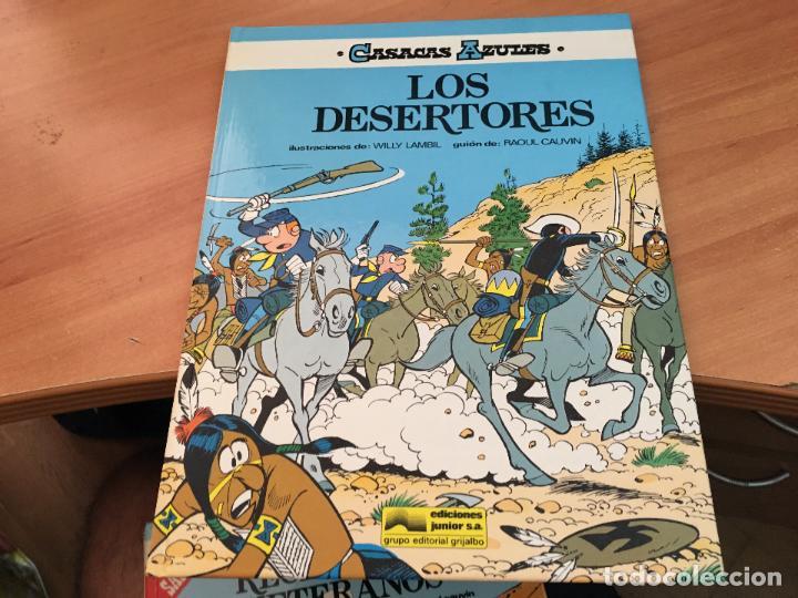 Cómics: CASACAS AZULES LOTE COLECCION COMPLETA TAPA DURA A FALTA DEL Nº 3 (COIM10) - Foto 11 - 132899810