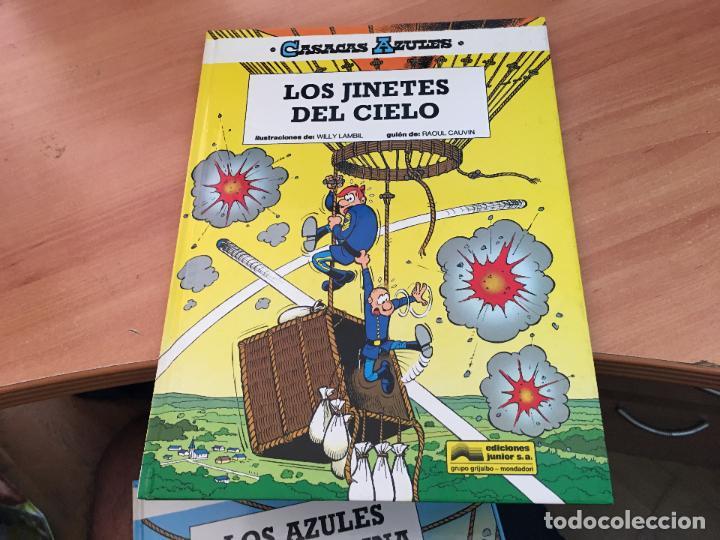 Cómics: CASACAS AZULES LOTE COLECCION COMPLETA TAPA DURA A FALTA DEL Nº 3 (COIM10) - Foto 18 - 132899810