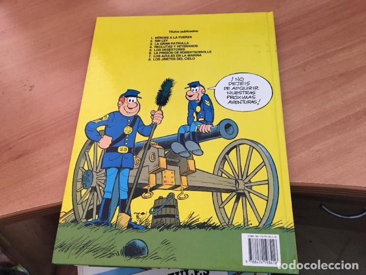 Cómics: CASACAS AZULES LOTE COLECCION COMPLETA TAPA DURA A FALTA DEL Nº 3 (COIM10) - Foto 19 - 132899810