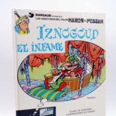 Cómics: LAS AVENTURAS DEL CALIFA HARUN EL PUSSAH 7. IZNOGOUD EL INFAME (GOSCINNY / TABARY) GRIJALBO, 1981. Lote 132902075
