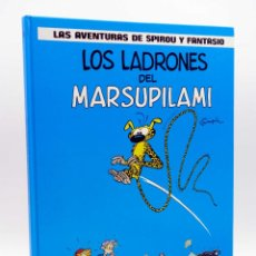 Cómics: LAS AVENTURAS DE SPIROU Y FANTASIO 3. LOS LADRONES DEL MARSUPILAMI (FRANQUIN) JUNIOR, 1987. Lote 132902079