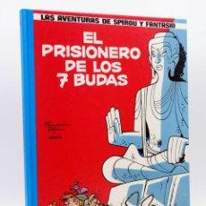 Cómics: LAS AVENTURAS DE SPIROU Y FANTASIO 12. EL PRISIONERO DE LOS SIETE BUDAS (FRANQUIN / GREGG), 1990. Lote 132902083