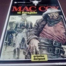 Cómics: MAC COY EL FORAJIDO. Lote 132911022