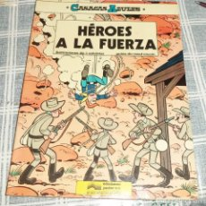 Cómics: HEROES A LA FUERZA CASACAS AZULES N.º 1 ED. JUNIOR 1ª ED. 1984 PASTA SEMIRIGIDA. Lote 132952954