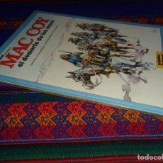 Cómics: MAC COY Nº 14, EL DESIERTO DE LOS LOCOS. GRIJALBO 1988. BUEN ESTADO.. Lote 132972758