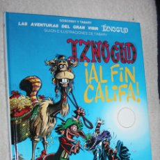 Cómics: IZNOGUD ,¡AL FIN CALIFA!( EDICIONES JUNIOR Nº18) . GOSCINNY & TABARY. Lote 133412354