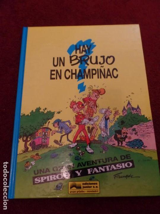 HAY UN BRUJO EN CHAMPIÑAC (Tebeos y Comics - Grijalbo - Spirou)