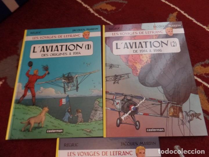 Cómics: Lefranc La aviación - Foto 2 - 133480446