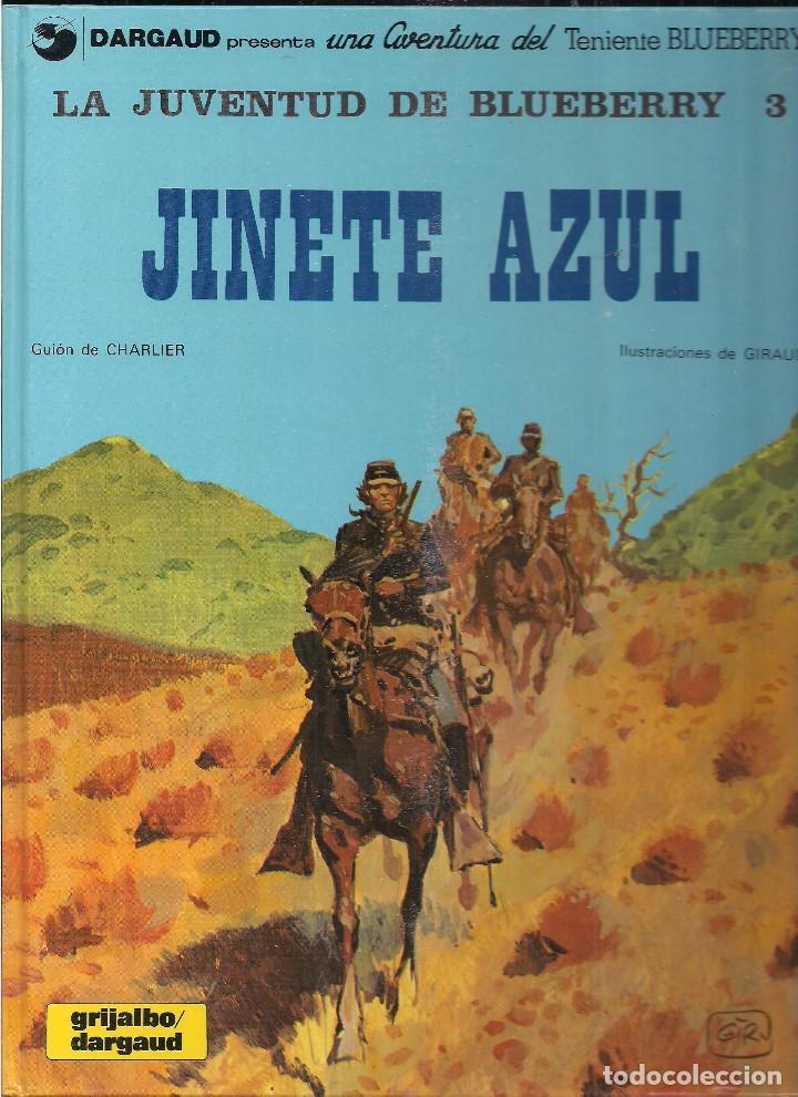 LA JUVENTUD DE BLUEBERRY: JINETE AZUL. CHARLIER Y GIRAUD (Tebeos y Comics - Grijalbo - Blueberry)