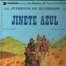 Cómics: LA JUVENTUD DE BLUEBERRY: JINETE AZUL. CHARLIER Y GIRAUD. Lote 133568822