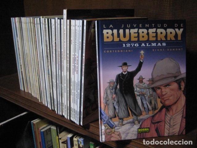 Cómics: Blueberry grijalbo dargaud junior norma DEL Nº 1 al Nº 51 BUEN ESTADO GRAN LOTE - Foto 3 - 133912190