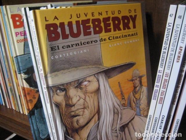 Cómics: Blueberry grijalbo dargaud junior norma DEL Nº 1 al Nº 51 BUEN ESTADO GRAN LOTE - Foto 17 - 133912190