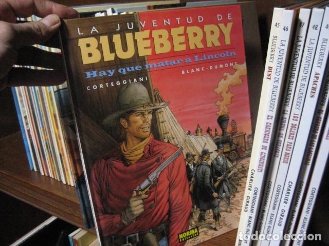 Cómics: Blueberry grijalbo dargaud junior norma DEL Nº 1 al Nº 51 BUEN ESTADO GRAN LOTE - Foto 19 - 133912190
