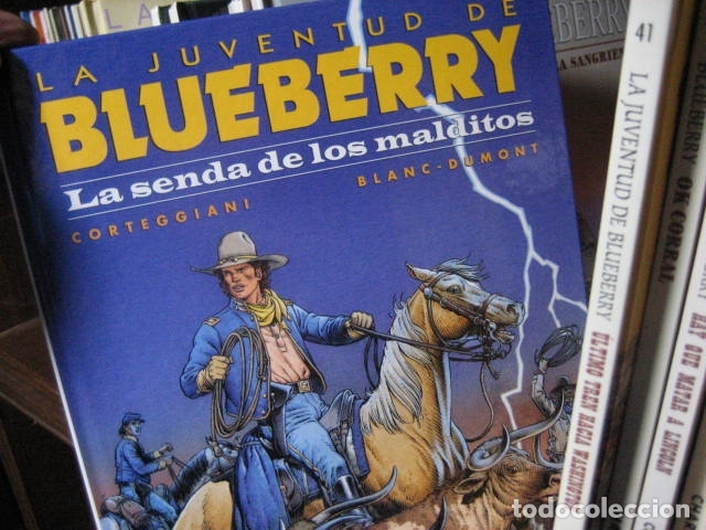 Cómics: Blueberry grijalbo dargaud junior norma DEL Nº 1 al Nº 51 BUEN ESTADO GRAN LOTE - Foto 22 - 133912190