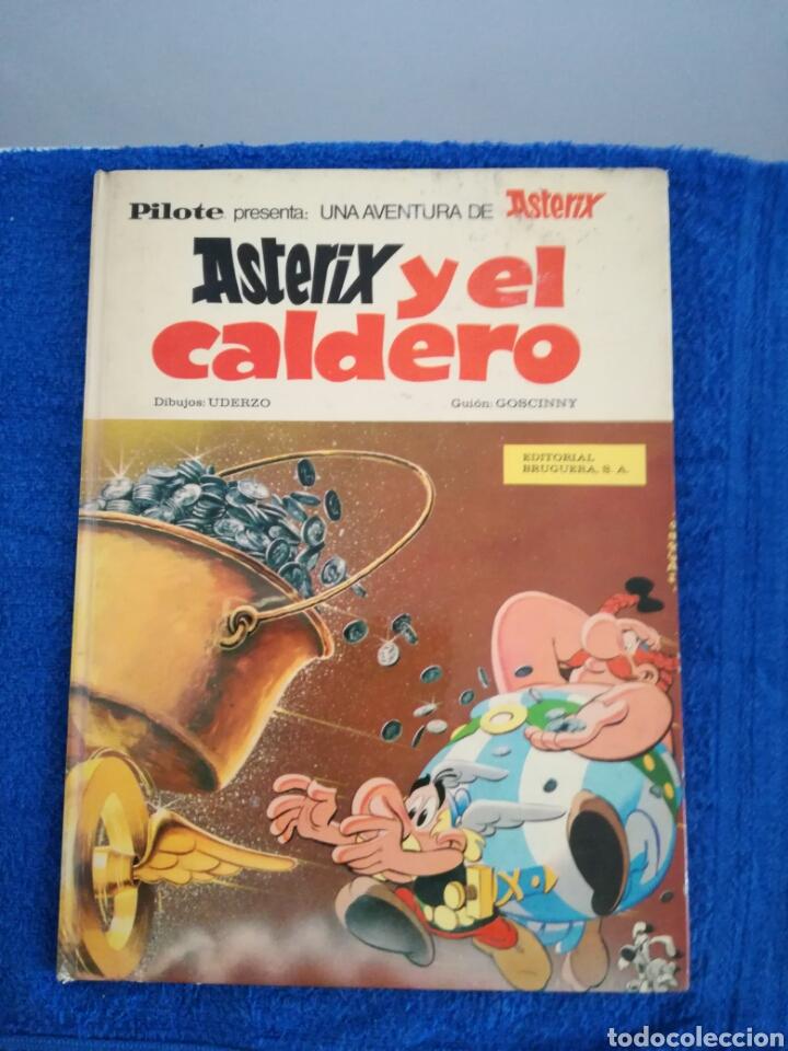 COMIC ASTERIX Y EL CALDERO DE LA EDITORIAL BRUGUERA. (Tebeos y Comics - Grijalbo - Asterix)