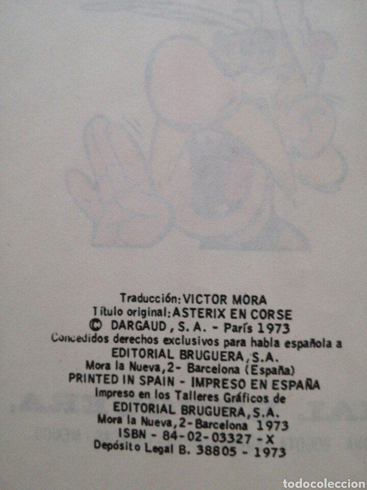 Cómics: Comic Asterix en Corcega de Editorial Bruguera - Foto 3 - 134023157