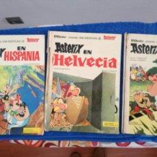 Cómics: LOTE DE 3 COMIC DE ASTERIX DE EDITORIAL BRUGUERA. Lote 134024754