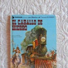 Cómics: UNA AVENTURA DEL TENIENTE BLUEBERRY - EL CABALLO DE HIERRO N.3. Lote 134038342