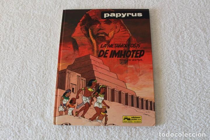 PAPYRUS: Nº 8 LA METAMORFOSIS DE IMHOTEP (DE GIETER) - 1990, GRIJALBO, EDICIONES JUNIOR. (Tebeos y Comics - Grijalbo - Papyrus)