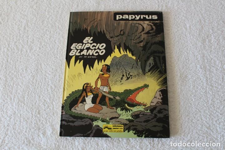 PAPYRUS: Nº 5 EL EGIPCIO BLANCO (DE GIETER) - 1989, GRIJALBO, EDICIONES JUNIOR. (Tebeos y Comics - Grijalbo - Papyrus)
