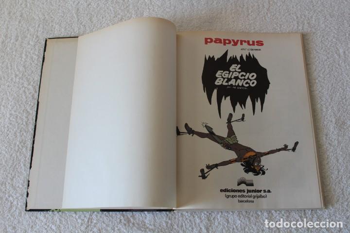 Cómics: PAPYRUS: Nº 5 EL EGIPCIO BLANCO (De Gieter) - 1989, GRIJALBO, EDICIONES JUNIOR. - Foto 2 - 134042154