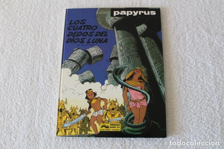 PAPYRUS: Nº 6 LOS CUATRO DEDOS DEL DIOS LUNA (DE GIETER) - 1989, GRIJALBO, EDICIONES JUNIOR. (Tebeos y Comics - Grijalbo - Papyrus)
