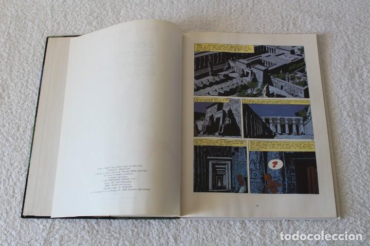 Cómics: PAPYRUS: Nº 6 LOS CUATRO DEDOS DEL DIOS LUNA (De Gieter) - 1989, GRIJALBO, EDICIONES JUNIOR. - Foto 3 - 134042598