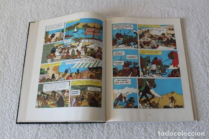 Cómics: PAPYRUS: Nº 6 LOS CUATRO DEDOS DEL DIOS LUNA (De Gieter) - 1989, GRIJALBO, EDICIONES JUNIOR. - Foto 4 - 134042598