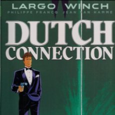 Cómics: LARGO WINCH Nº 6 DUTCH CONNECTION - GRIJALBO - CARTONE - IMPECABLE - OFI15T. Lote 143033788