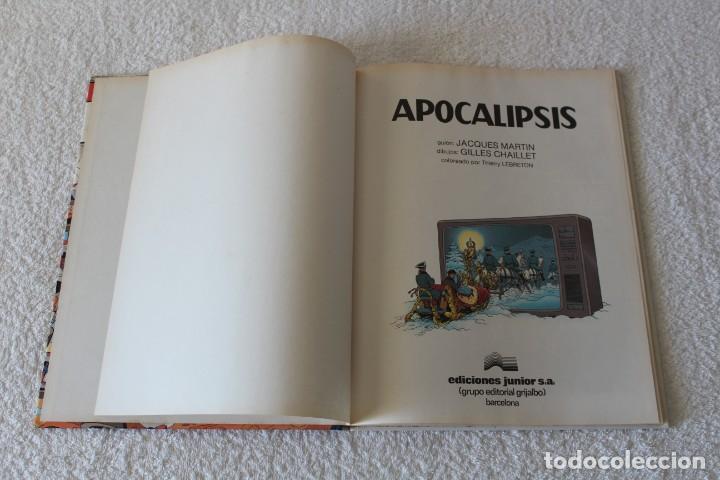 Cómics: LEFRANC Nº 10 APOCALIPSIS de JACQUES MARTIN y GILLES CHAILLET - GRIJALBO, EDICIONES JUNIOR 1989 - Foto 2 - 134106958