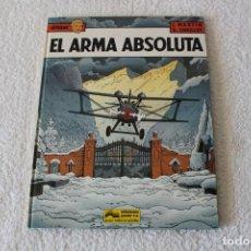 Cómics: LEFRANC Nº 8 EL ARMA ABSOLUTA DE JACQUES MARTIN Y GILLES CHAILLET - GRIJALBO, EDICIONES JUNIOR 1988. Lote 134107726