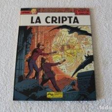 Cómics: LEFRANC Nº 9 LA CRIPTA DE JACQUES MARTIN Y GILLES CHAILLET - GRIJALBO, EDICIONES JUNIOR 1988. Lote 134108270