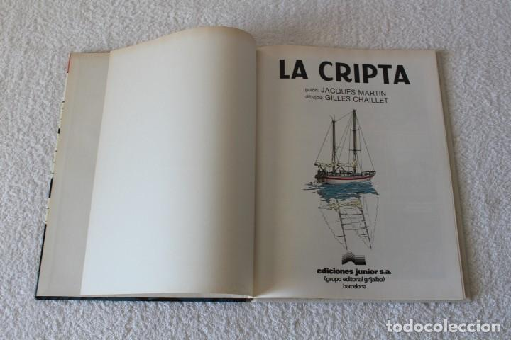 Cómics: LEFRANC Nº 9 LA CRIPTA de JACQUES MARTIN y GILLES CHAILLET - GRIJALBO, EDICIONES JUNIOR 1988 - Foto 2 - 134108270