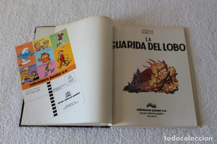 Cómics: LEFRANC Nº 4 LA GUARIDA DEL LOBO de JACQUES MARTIN - GRIJALBO, EDICIONES JUNIOR 1986 - Foto 2 - 134108906