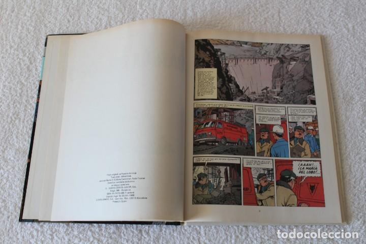 Cómics: LEFRANC Nº 4 LA GUARIDA DEL LOBO de JACQUES MARTIN - GRIJALBO, EDICIONES JUNIOR 1986 - Foto 3 - 134108906