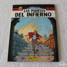 Cómics: LEFRANC Nº 5 LAS PUERTAS DEL INFIERNO DE JACQUES MARTIN Y GILLES CHAILLET - GRIJALBO, ED JUNIOR 1987. Lote 134109310