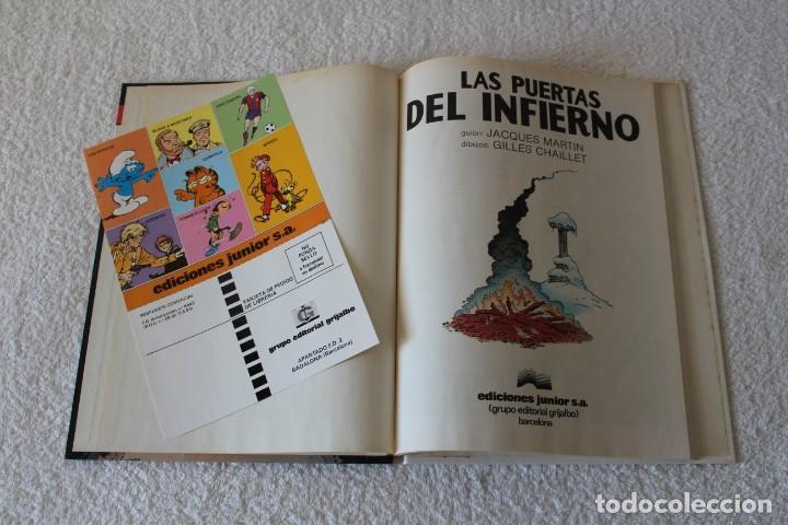 Cómics: LEFRANC Nº 5 LAS PUERTAS DEL INFIERNO de JACQUES MARTIN y GILLES CHAILLET - GRIJALBO, ED JUNIOR 1987 - Foto 2 - 134109310