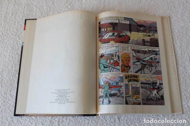 Cómics: LEFRANC Nº 5 LAS PUERTAS DEL INFIERNO de JACQUES MARTIN y GILLES CHAILLET - GRIJALBO, ED JUNIOR 1987 - Foto 3 - 134109310