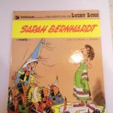 Comics : LUCKY LUKE - SARAH BERNHARDT - GRIJALBO/DARGAUD - 1983. Lote 134181630