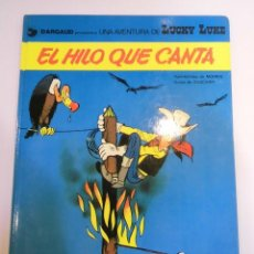 Cómics: LUCKY LUKE - EL HILO QUE CANTA - EDICIONES JUNIOR - 1979. Lote 134182618