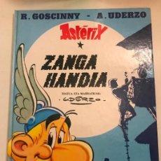 Cómics: ASTERIX IDIOMAS Nº 14 ZANGA HANDIA. LA GRAN ZANJA. EUSKERA VASCO. ELKAR. TAPA DURA. Lote 134236246