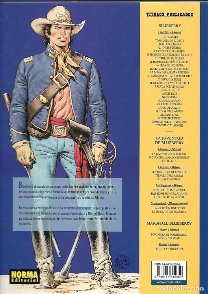 Cómics: El Teniente Blueberry Años 1977 /2006 Lote de 45 Tebeos de Tapas Duras del Nº 1 al 42 - 44 - 46 - 48 - Foto 13 - 134259782