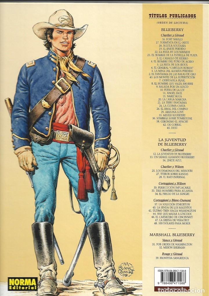 Cómics: El Teniente Blueberry Años 1977/ 2019 Lote de 52 Tebeos de Tapas Duras Nº 1 al 52 colección completa - Foto 23 - 134259782
