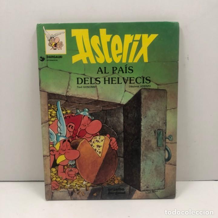 ASTERIX AL PAÍS DELS HELVECIS - TAPA DURA - GRIJALBO/DARGAUD - AÑO 1984 (Tebeos y Comics - Grijalbo - Asterix)
