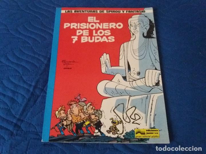 EL PRISIONERO DE LOS 7 BUDAS. SPIROU Y FANTASIO. TAPA BLANDA. JUNIOR GRIJALBO. (Tebeos y Comics - Grijalbo - Spirou)