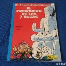 Cómics: EL PRISIONERO DE LOS 7 BUDAS. SPIROU Y FANTASIO. TAPA BLANDA. JUNIOR GRIJALBO.. Lote 134839594