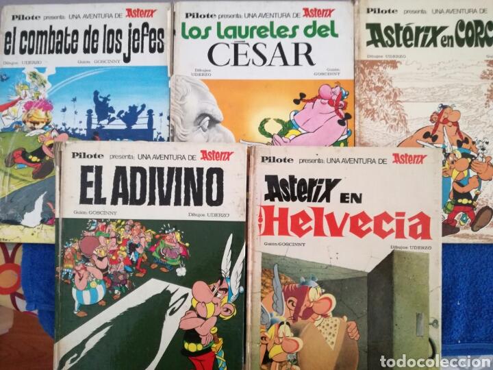 LOTE DE 5 COMIC DE ASTERIX DE LA EDITORIAL BRUGUERA.AÑOS 60 Y 70 (Tebeos y Comics - Grijalbo - Asterix)